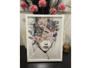 Wanted: Fashion print framed A3 $39